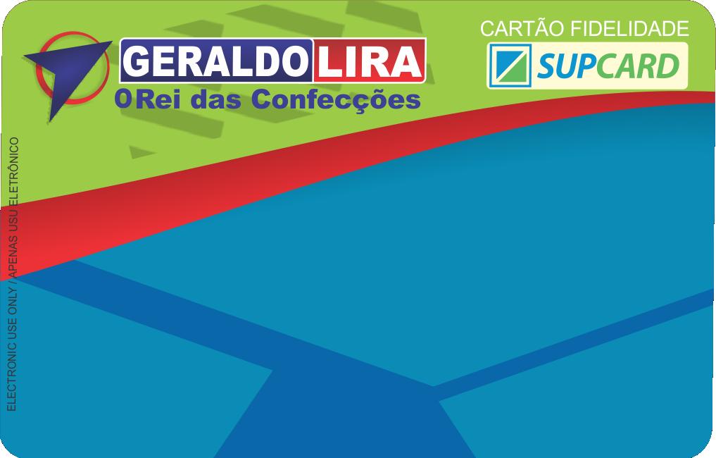 CARTAO LOJAS GERALDO LIRA