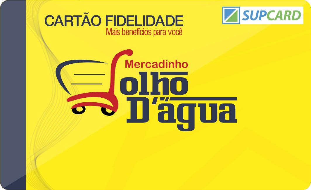 CARTAO MERCADINHO OLHO DAGUA SUPCARRD