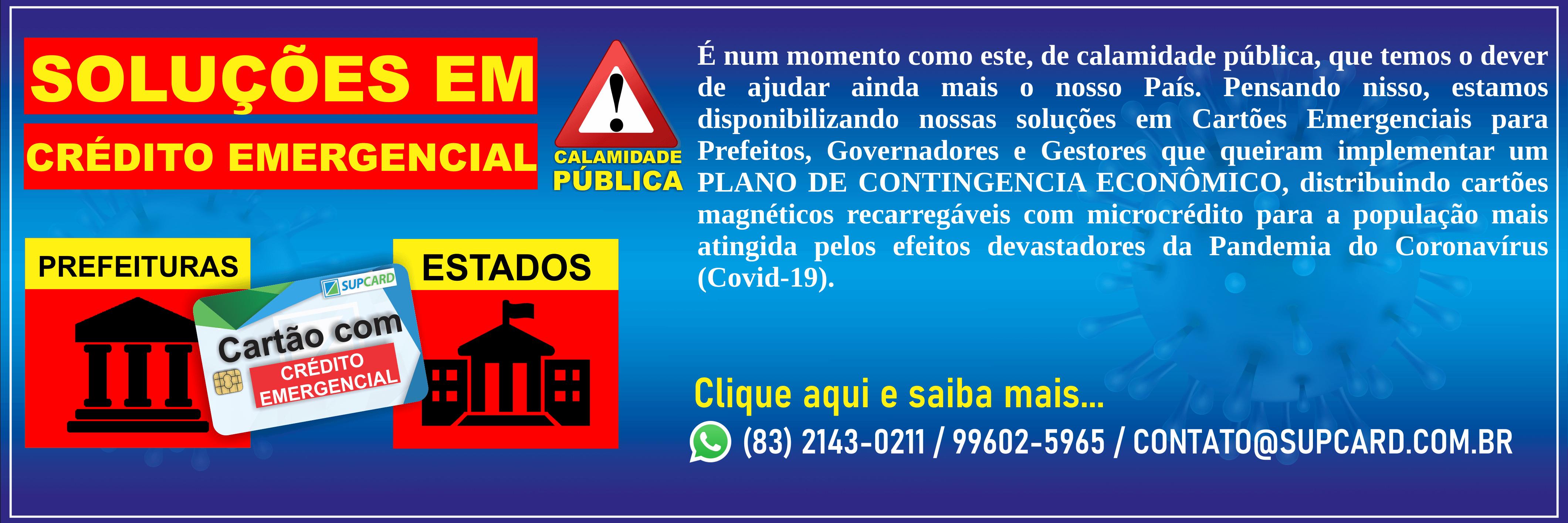 banner cartao emergencial