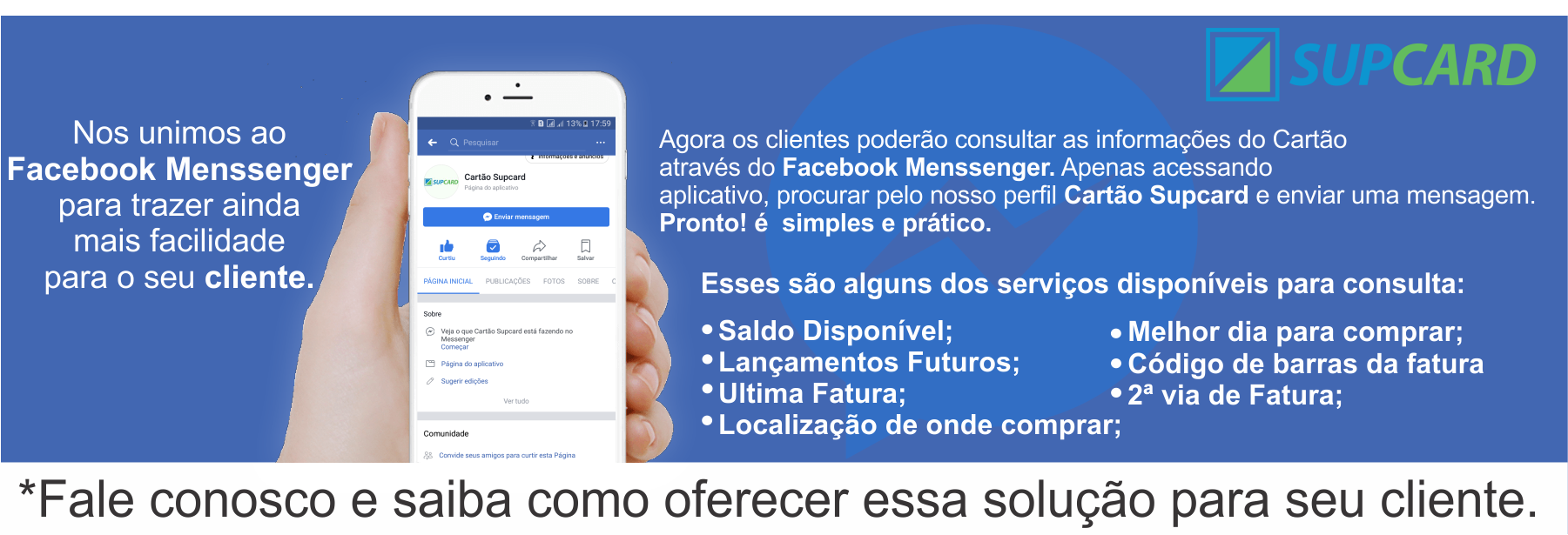 Supcard e Facebook